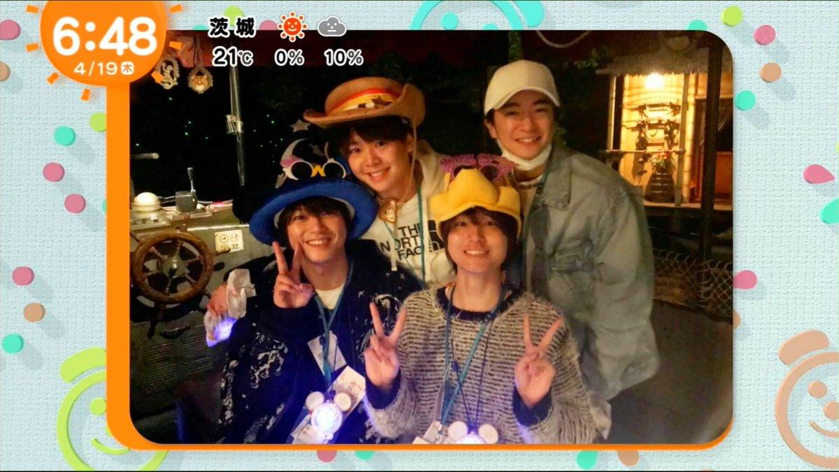 【Hey!Say!JUMP】『いのピク』でディズニー・プレビューナイトの写真公開、着用グッズが判明!
