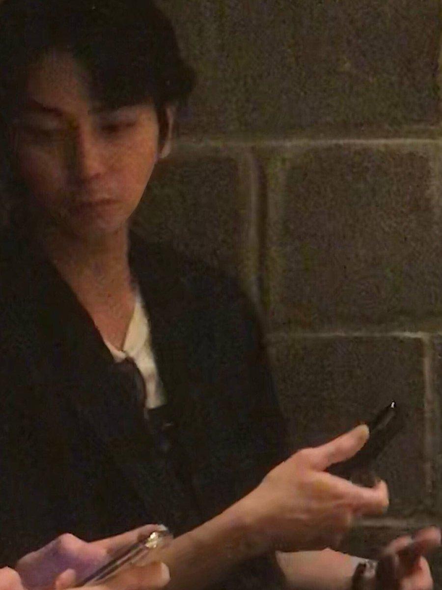 【画像】嵐・松本潤とNYで遭遇!元ジャニーズJr.の振付師・梨本威温と打ち合わせか?