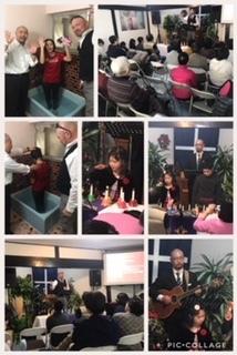 クリスマス洗礼式と下田宣教師