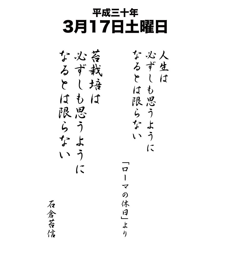 平成30年3月17日