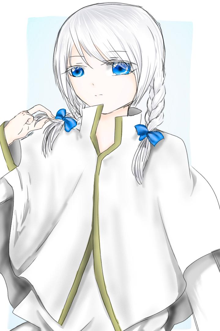 三つ編み龍ちゃん