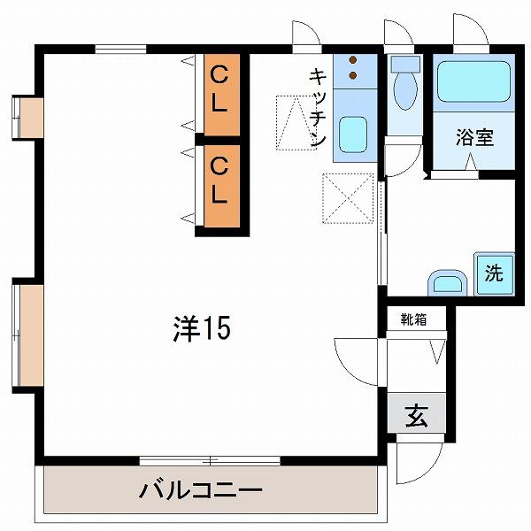 エルシーズ神宮2号室