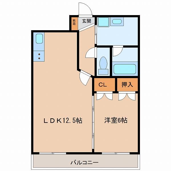 エンブレーマ西池(3号室)