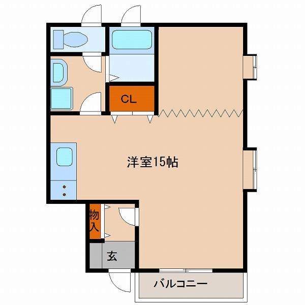 エル・シーズⅠ(1号室)