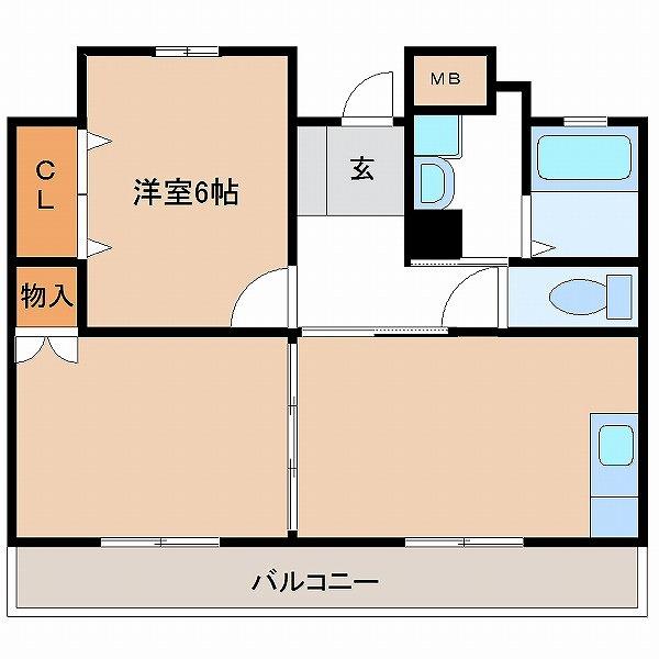 3UMK宮崎ビル(9号室)