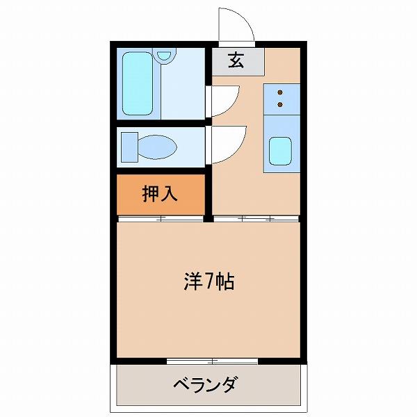 テヅカセイゾンハイツ(403)