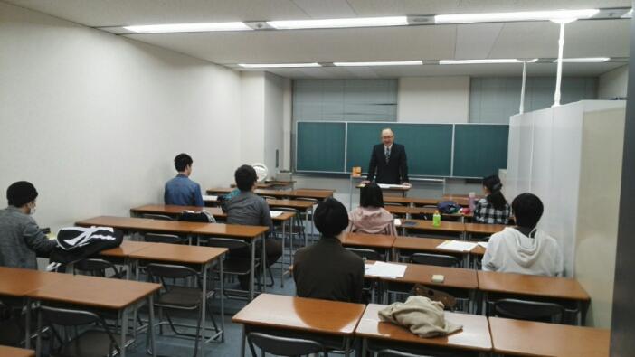 東京アカデミー静岡校にてボランティア説明会を開催しています