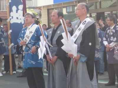 三河内曳山祭り