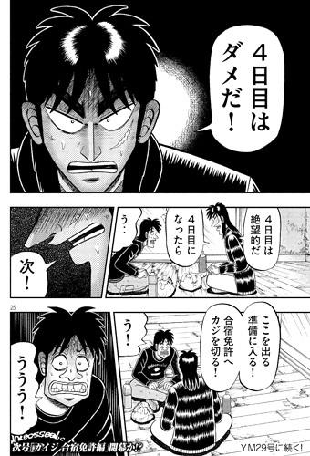 カイジ284話ネタバレ感想(5) 合宿免許編開幕!?