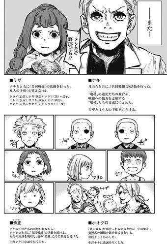 東京喰種:re179話(最終回)ネタバレ感想(11) 結婚したミザとナキ