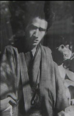 太宰 治「晩年」の口絵写真27歳