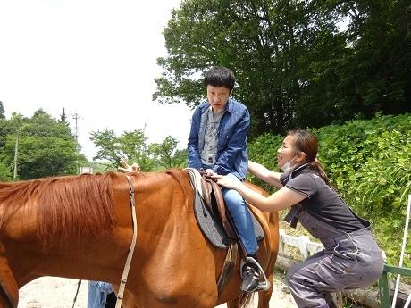 乗馬体験1