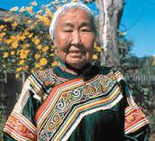 ウルチ族の女性