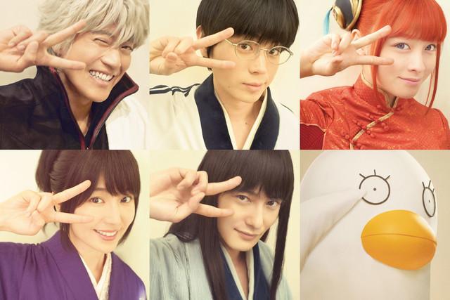 【映画】「銀魂2」長澤まさみ&岡田将生が出演、エリザベスも!さらに5日連続キャスト解禁