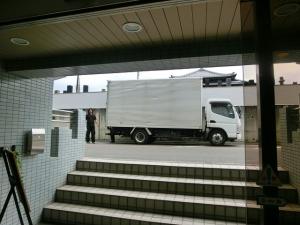 トラック到着!