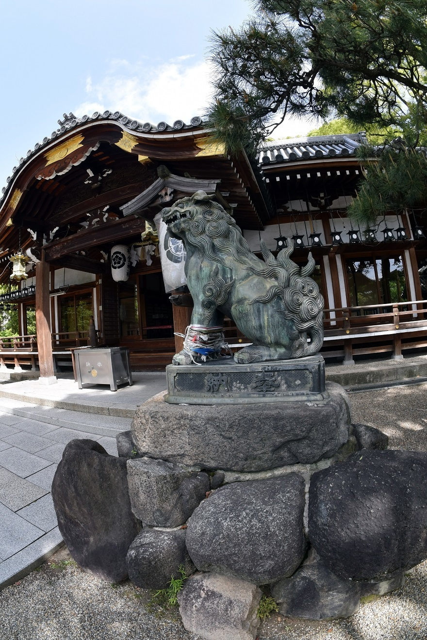 杭全神社・春 (1)
