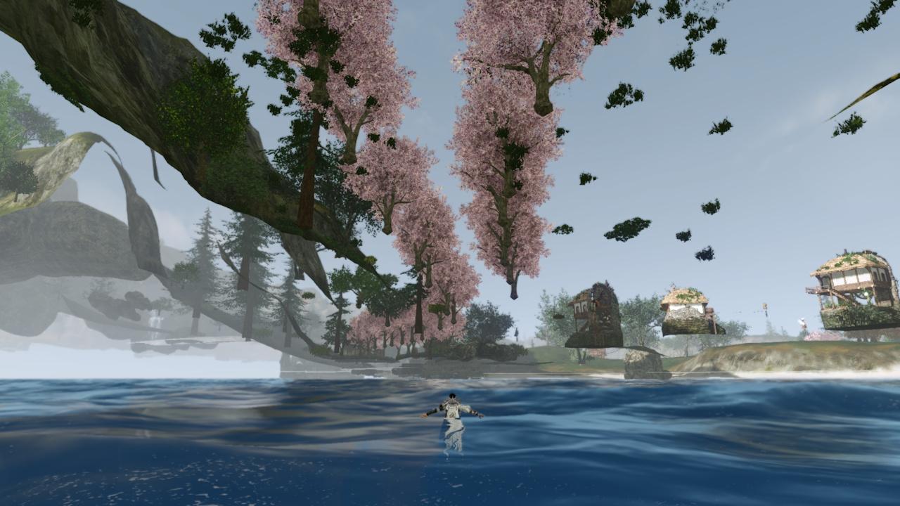 4_地面の下から桜並木
