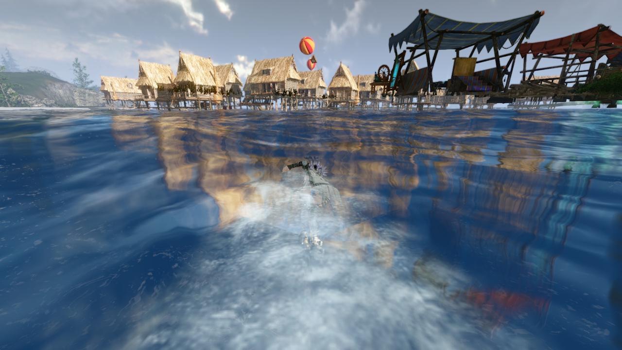 5_海に向かって海を泳ぐ