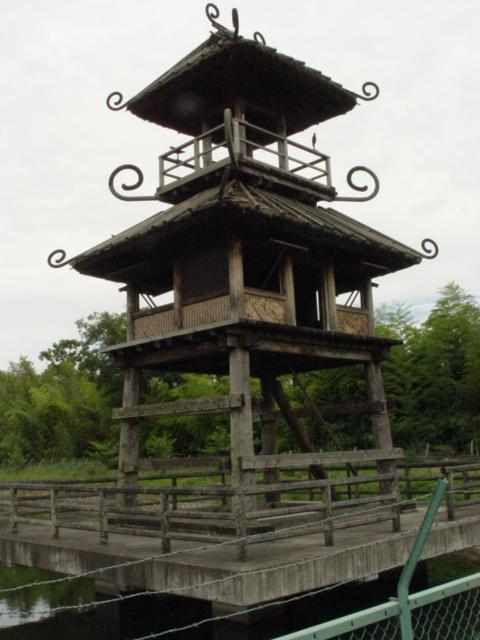 唐古鍵遺跡復元楼閣