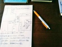 リフォーム前 片付け・断捨離ざっくり計画表