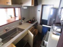 リフォーム前の断捨離 片付け キッチン (5)