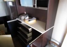 ニトリの食器棚140㎝キッチンボード買取り (5)