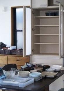 リフォーム後 片付け 食器棚
