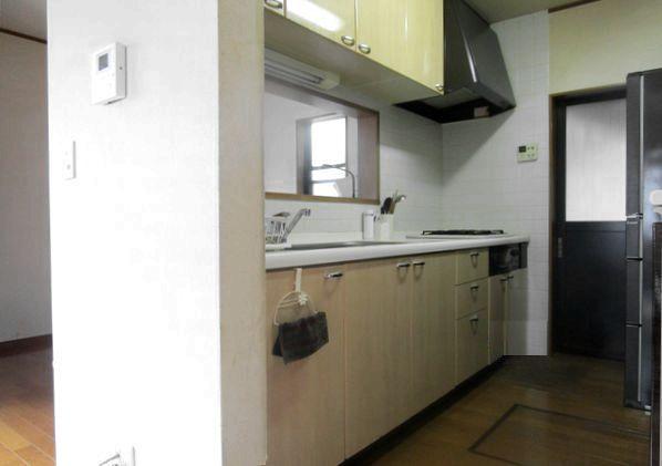 狭いキッチン ビフォー2