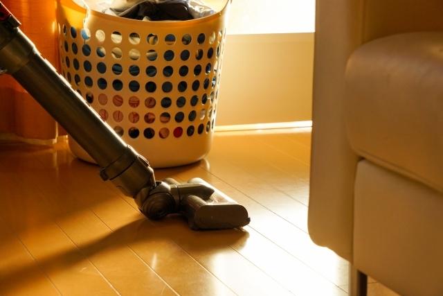 同居記事 掃除 洗濯