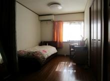 寝室・自室 模様替え ベッドの位置 (4)