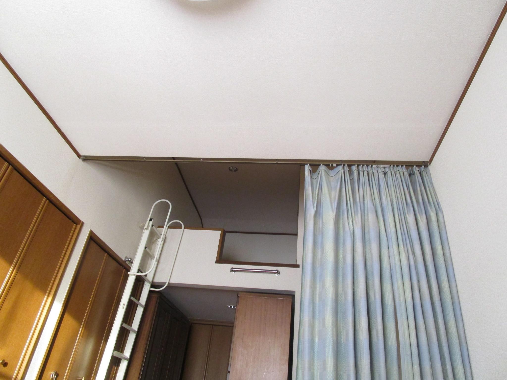 寝室・自室 模様替え ベッドの位置 (5)