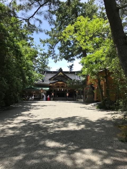 安宅の関 安宅住吉神社