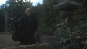 風林火山48由布姫の墓を訪れる勘助