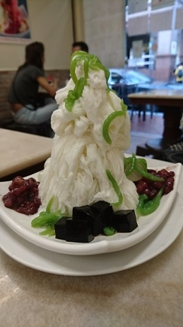 Chendol snow ice