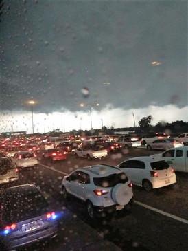 Summer storm when back Thailand (1)