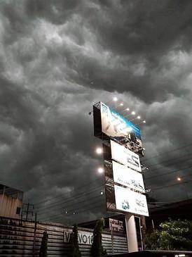 Summer storm when back Thailand (5)