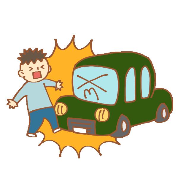 【あたり屋】停止している車に正面から美女がタックルした結果wwwwwww ※日本