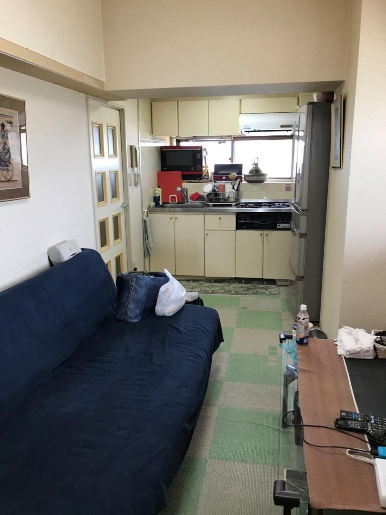 岡田様施工前キッチン