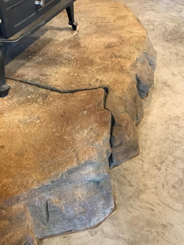 石造り調 割れ目入り カントリーベース