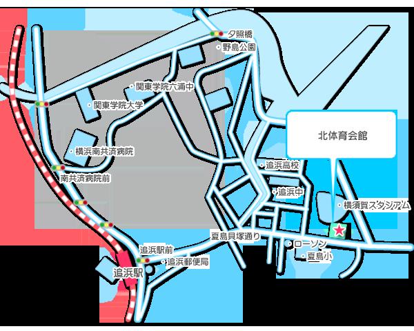 横須賀市北体育館