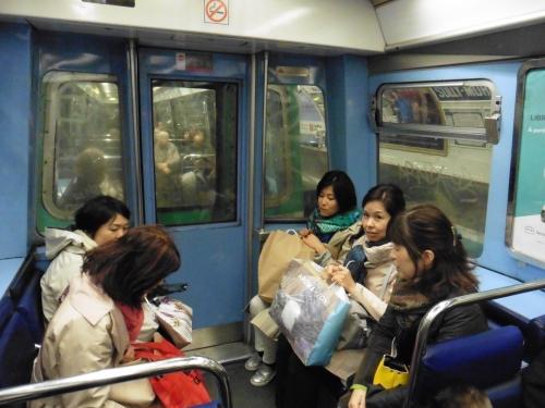1地下鉄移動