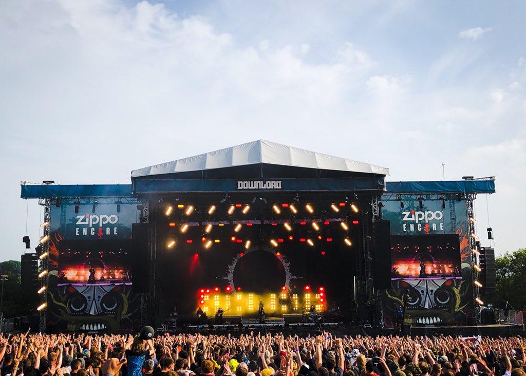 BABYMETALワールドツアー2018 『Download Festival UK 2018』のセットリストと開始前の様子