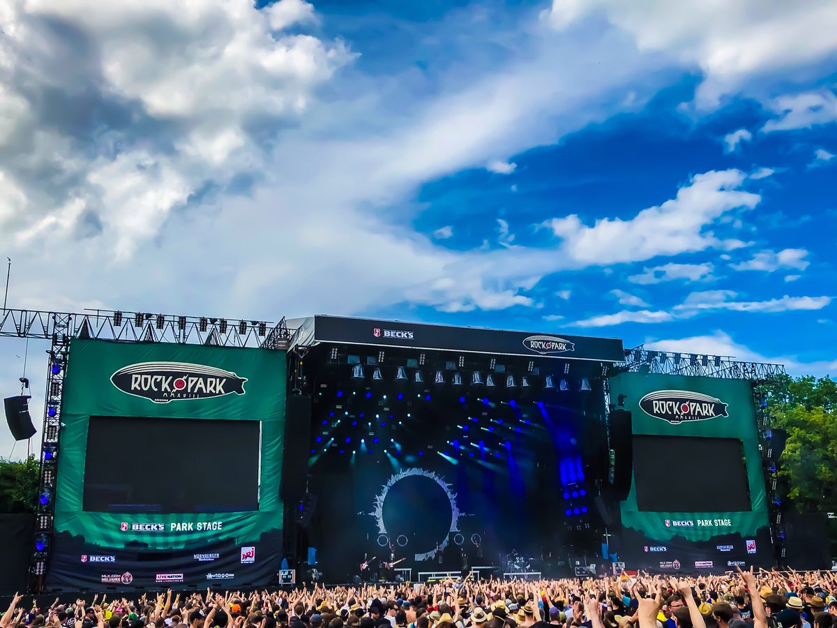 BABYMETALワールドツアー2018 『Rock im Park 2018』のセットリストと開始前の様子