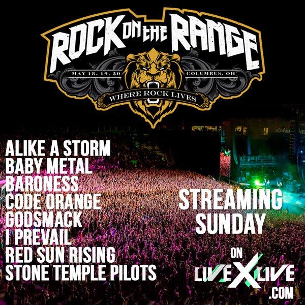 BABYMETALワールドツアー2018 『Rock On The Range』のセットリストと開始前の様子