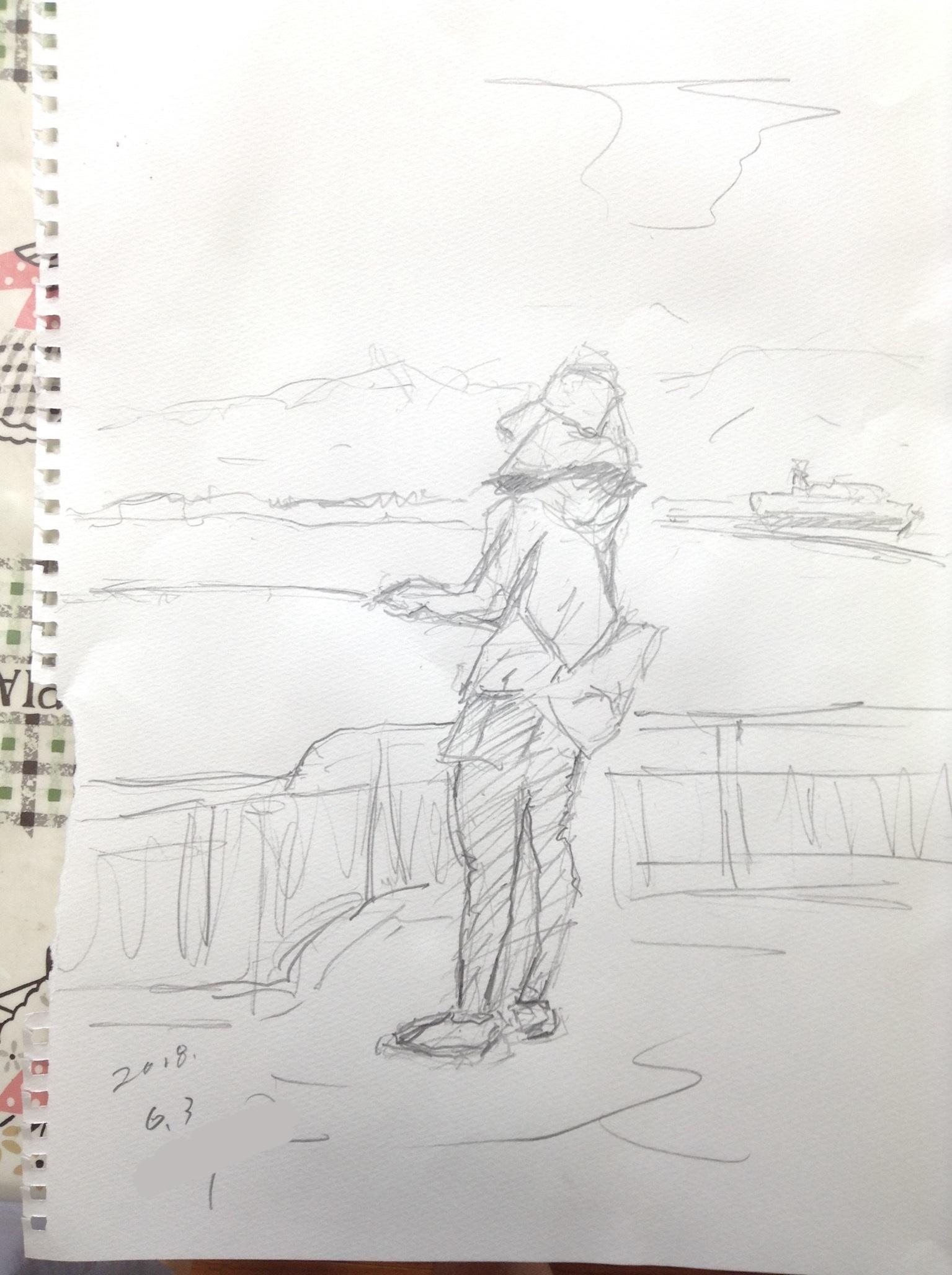 2018-6-3のキス釣り (4)