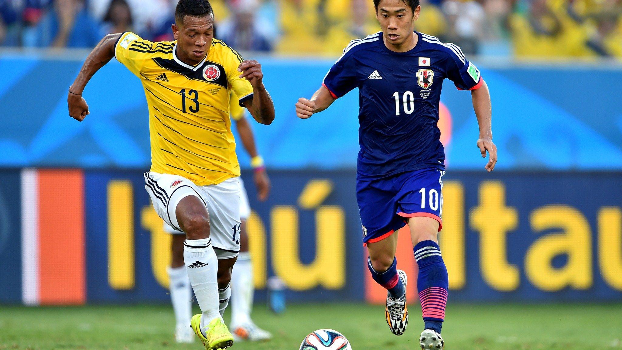 日本対コロンビア2