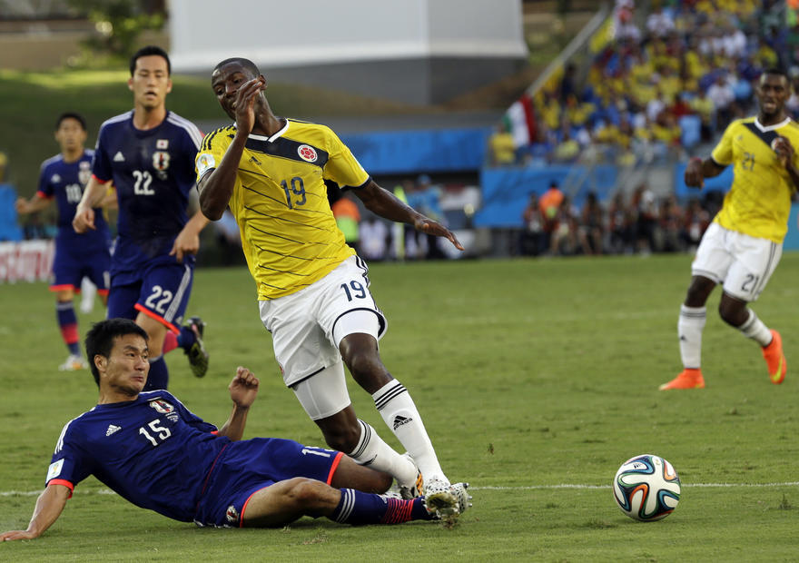 日本対コロンビア3