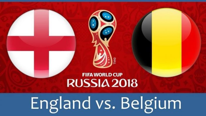 イングランド対ベルギー