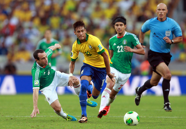 ブラジル対メキシコ2