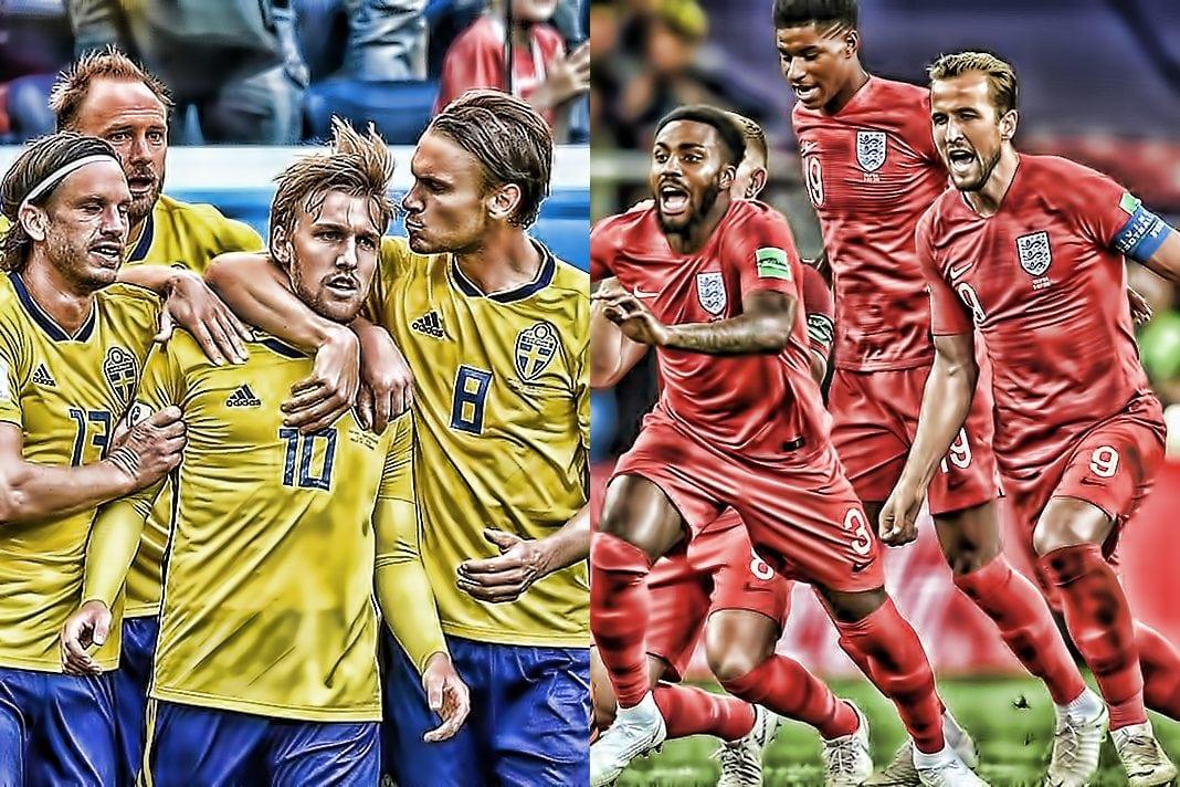 スウェーデン対イングランド1